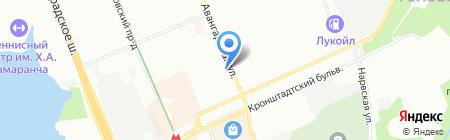 Cislink на карте Москвы