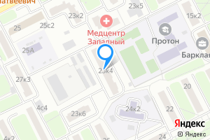 Однокомнатная квартира в Москве Большая Филёвская ул., 23к4