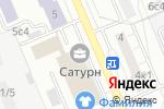 Схема проезда до компании Loft Coffee в Москве