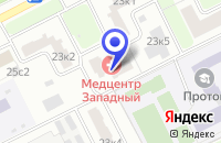 Схема проезда до компании ПОДРОСТКОВЫЙ КЛУБ СПУТНИК в Москве
