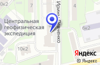 Схема проезда до компании ПТФ БЕРСОНИ в Москве