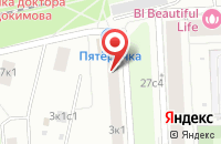Схема проезда до компании Напи-М в Москве