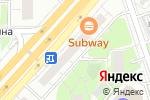 Схема проезда до компании МОССТРОЙЭКОНОМБАНК в Москве