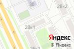Схема проезда до компании Картридж в Москве