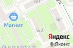 Схема проезда до компании Нэй в Москве