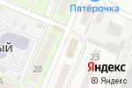 Схема проезда до компании Участковый пункт полиции в Молодёжном