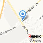 Район на карте Щёкино