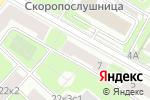 Схема проезда до компании Р-секьюрити в Москве