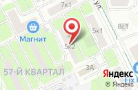 Схема проезда до компании Техно в Москве