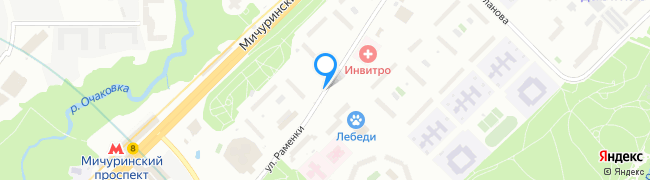 улица Раменки