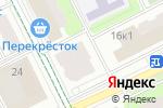 Схема проезда до компании Айболит в Москве