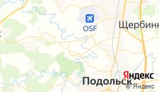 Отели города Тарасово на карте