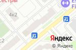 Схема проезда до компании Деливери Пицца в Москве