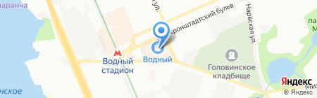 Адамас на карте Москвы