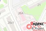 Схема проезда до компании Детская городская поликлиника №133 в Москве