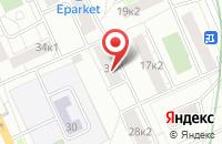Схема проезда до компании Мед-Скм в Москве