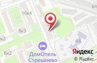 Схема проезда до компании Интерграф Сервис в Москве