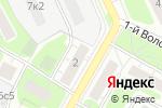 Схема проезда до компании Velogold в Москве