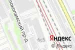 Схема проезда до компании КЕРАМИР в Москве