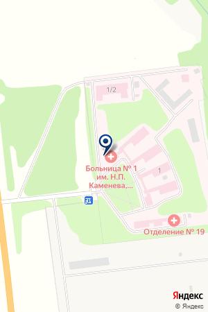 Тульская областная клиническая психиатрическая больница №1 им. Н.П. Каменева на карте Маслово
