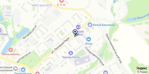 Мед Сервис на карте Москве