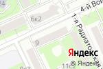 Схема проезда до компании Инженерная служба Войковского района в Москве