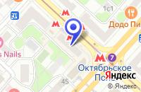 Схема проезда до компании КБ ГРАДО-БАНК в Москве