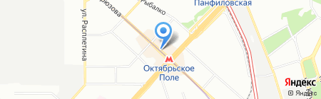 ФитильПлюс на карте Москвы