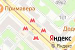 Схема проезда до компании ФитильПлюс в Москве