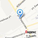 Микс на карте Щёкино
