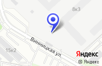 Схема проезда до компании ПТФ ИНТЕКОСТРОЙ в Москве