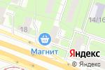 Схема проезда до компании Московский ветеран в Москве
