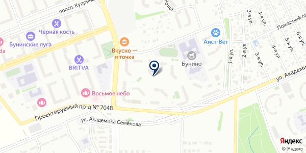 Дом быта на карте Москве