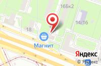 Схема проезда до компании Московитянка в Москве