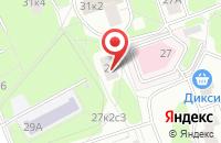 Схема проезда до компании Исида в Москве