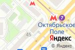Схема проезда до компании Манифик в Москве