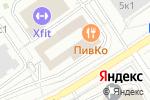 Схема проезда до компании CLiVE в Москве