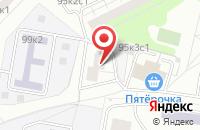 Схема проезда до компании Социальные Инновации в Москве