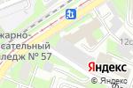 Схема проезда до компании Белый свет 2000 в Москве