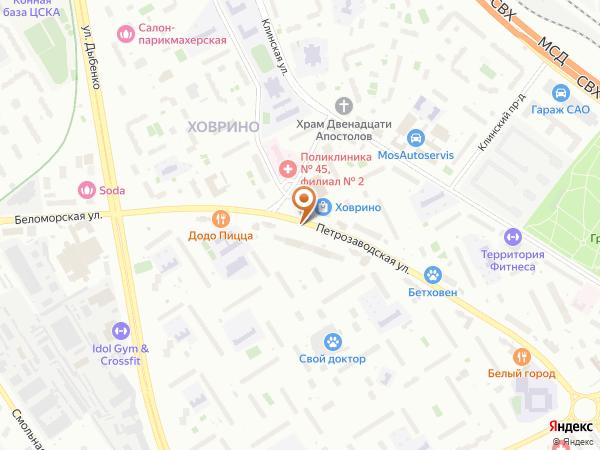 Остановка Петрозаводская ул. в Москве