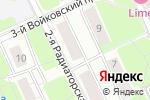 Схема проезда до компании ОкМастер в Москве