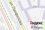 Схема проезда до компании Краббе в Москве