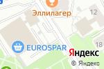 Схема проезда до компании Мастерская на Фестивальной в Москве