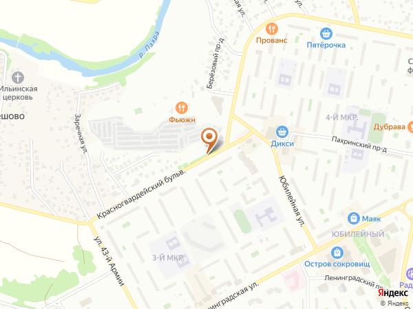 Остановка Юбилейная площадь (Московская область)