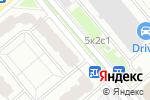 Схема проезда до компании Интеллектуальная Автоматизация в Москве