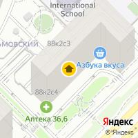 Световой день по адресу Россия, Московская область, Москва, Мосфильмовская улица, 88к2с4