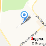 Орфей на карте Щёкино
