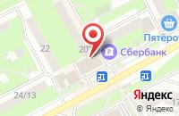 Схема проезда до компании Медспецсервис в Подольске