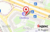 Схема проезда до компании Шорт Кат в Москве