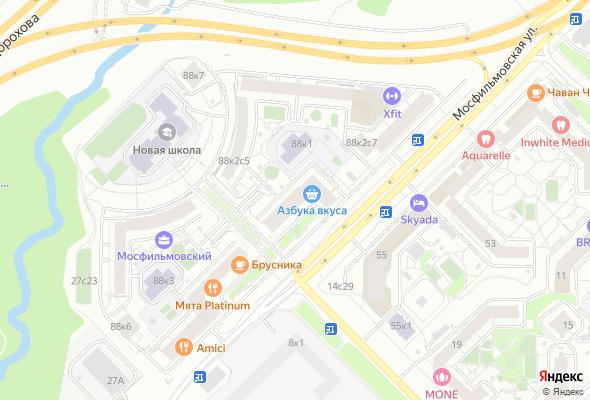 продажа квартир Мосфильмовский